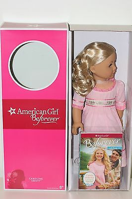American Girl Caroline Doll & Book Set Brand New NIB Never Removed from Box