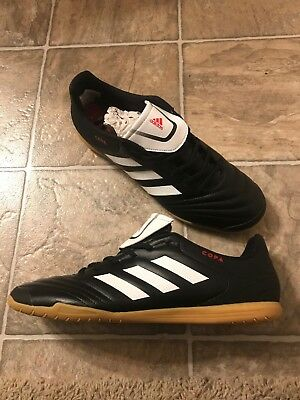 timeless design d8897 aa918 Adidas Copa 17.4 Indoor Soccer Shoes Men s Size 11 Black  White  Red BB5373