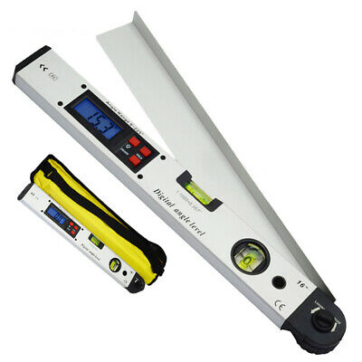 0~225 Degree Protractor Spirit Level Digital LCD Angle Finder Meter Inclinometer