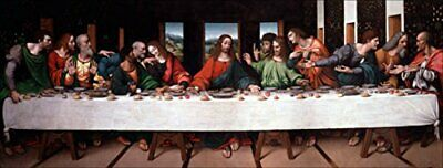 Da Vinci The Last Supper Sticker (fine Art Artist Jesus Bumper)