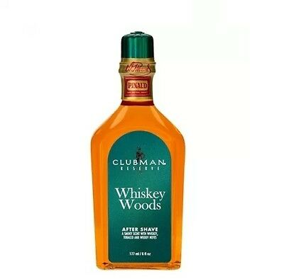 Pinaud Clubman -  whiskey woods after shave 177ml - Uomo