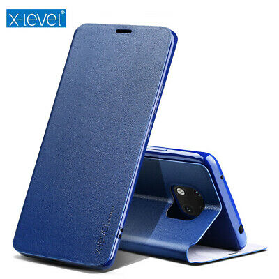 X-Level Colorful Genuine Leather Flip Case Stand Cover Fr Huawei Mate 10 Pro 20X