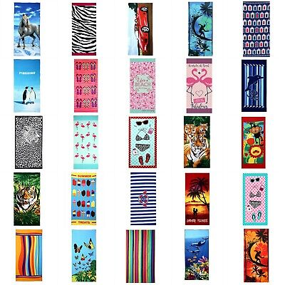 Summer Camping Microfiber Beach Towel Gym Bath Travel Sports Swimming Children