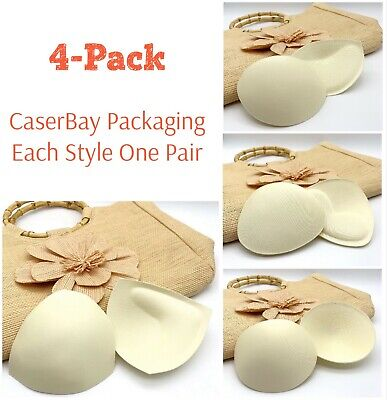 Bikini Pad, Bra Inserts Push-up Pad Chest Pads Enhancers Triangle Shape Circular