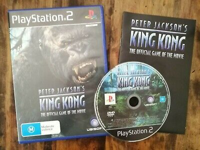 Peter Jacksons King Kong (Sony PlayStation 2) PS2 complete with case and manual