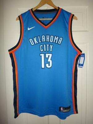 reputable site 89ded 39df4 NIKE 2018-19 NBA Oklahoma City Thunder Paul George City ...
