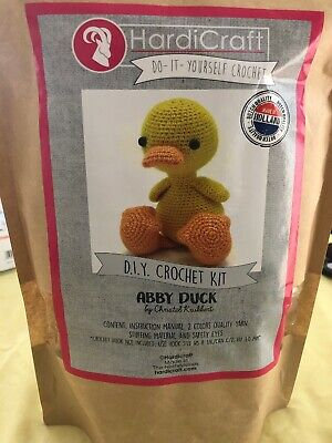 Diy Crochet Kit ( Abby Duck) Made In Holland