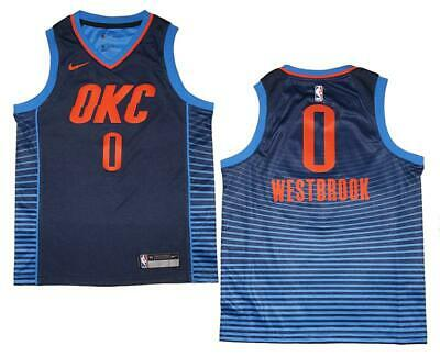 the best attitude 55426 0341d Youth Nike OKC Thunder  0 Russell Westbrook Statement Edition Swingman  Jersey