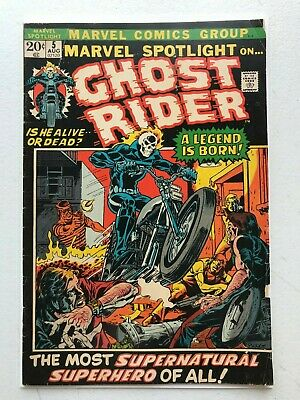 Marvel Spotlight #5 - 1st Appearance & Origin of Ghost Rider Johnny Blaze