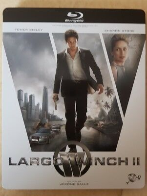 Steelbook Blu Ray + DVD //  LARGO WINCH 2  //