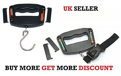 50kg Digital Luggage Scale Portable Weighing Weight Suitcase Travel Strap Escale