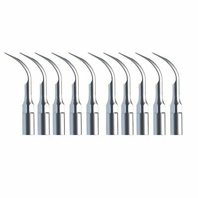 10* Dental Ultrasonic Piezo Scaler Scaling Tips G2 fit EMS WOODPECKER UK L-3C