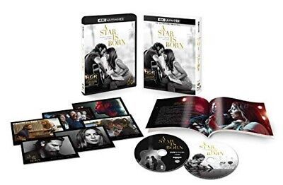 A Star Is Born 4K ULTRA HD+Blu-ray Booklet Post Card First Limited Edition Japan