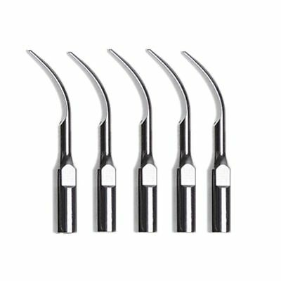5 pcs Dental Ultrasonic Scaler Scaling Tip for NSK DTE SATELE Handpiece GD2 L-B