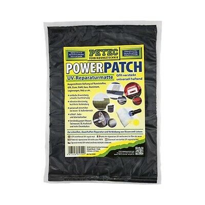 Power PATCH UV Reparaturmatte 225 x 300 mm PETEC (85300)