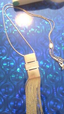 1930s art deco style drop chain