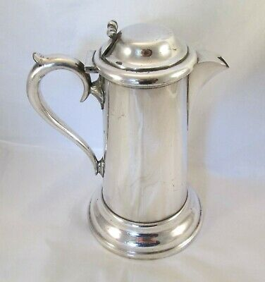 A Good Small Silver Plated Communion Jug - 19th Century