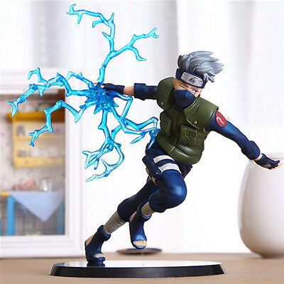 22cm Anime Naruto Kakashi Sasuke Action Figure PVC Model Toys Collection Gifts