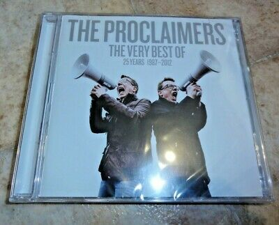 THE PROCLAIMERS THE VERY BEST OF...25 YEARS...1987-2012  2 CD SET Greatest Hits