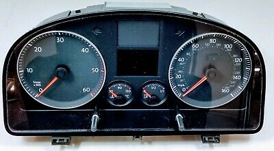 Genuine Vw Caddy Touran Tdi Instrument Cluster Dash Clocks 1T0 920 961 Ax Z02