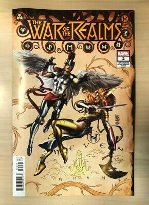 WAR OF THE REALMS # 2 - Camuncoli Connecting Variant - Jason Aaron - Marvel