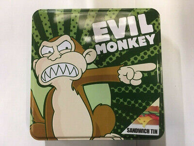 Nouveau officiel family guy evil monkey sandwich storage tin box