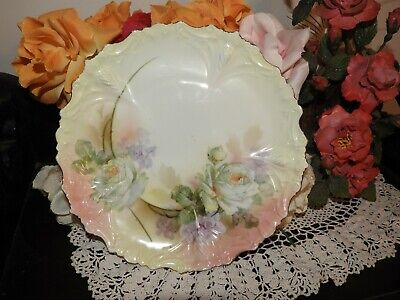 R S PRUSSIA cake plate - Vintage, made in Prussia