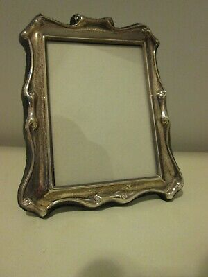 Vintage Hallmarked Solid Silver Decorative Scroll Style Picture Frame