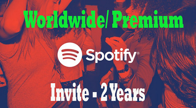 Spotify Premium Account⭐ Personal Account⭐Worldwide-Fast Delivery Invite - 2 Y🎁