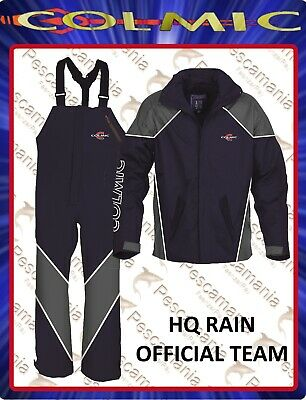 Completa impermeable impermeable chaqueta salopette Colmic HQ RAIN official team