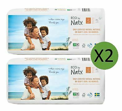 Naty Size 5 Nappies Eco Pack (2 x 40)