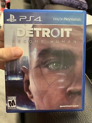 Detroit Become Human PS4 Video Game