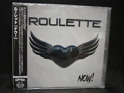 ROULETTE Now ! JAPAN CD (Import With Obi & Liner Notes) Sweden Melodic Rock/AOR