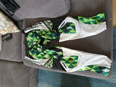 """Fly Racing Mtb Motocross Trousers Padded 32"""""""