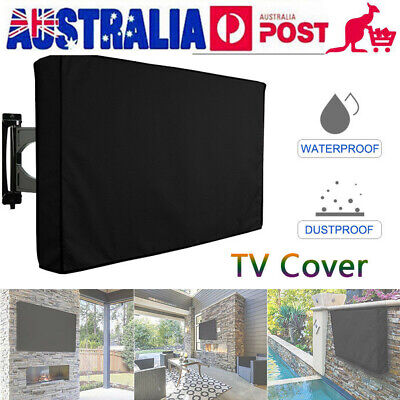 """Outdoor TV Cover Waterproof Television Protector For 30""""-65"""" LED Plasma TV H1N0"""