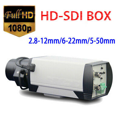 2MP 1080P 2.8-12/6-22/5-50MM Lens Vari-focus Manual Zoom HD-SDI CCTV BOX Camera