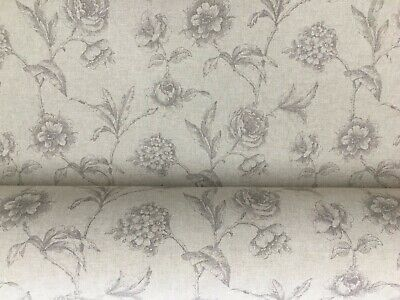 Provencal Stripe SAGE Green Linen//Cotton 140cm wide Curtain//Upholstery Fabric