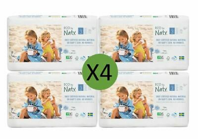 Naty Size 3 Nappies Eco Pack (4 x 50)