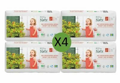 Naty Size 4 Plus Nappies Eco Pack (4 x 42)