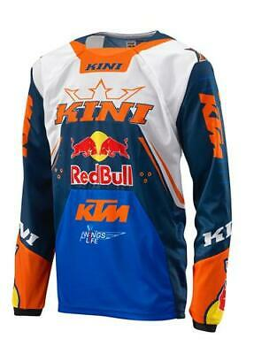 KTM Kini Red Bull Off-Road Motocross Motorcycle MX Jersey New RRP £53.34!!