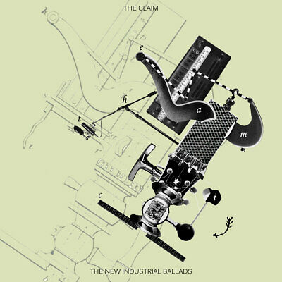 The Claim - The New Industrial Ballads // Vinyl LP limited to 150 on Green/Blue