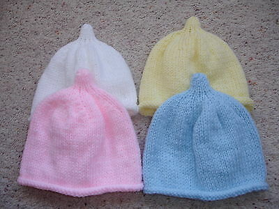 Brand New Hand Knitted Baby Beanie Hat