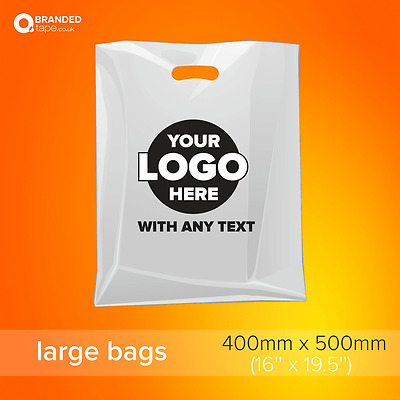 Printed Plastic Carrier Bags Polybags with Logo
