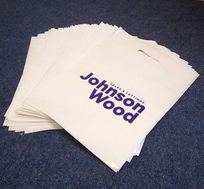 Printed Plastic Carrier Bags with your Logo