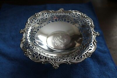 """Dominick & Haff Sterling Silver Pierced Tazza 7"""" Howard & Co 2 Available"""