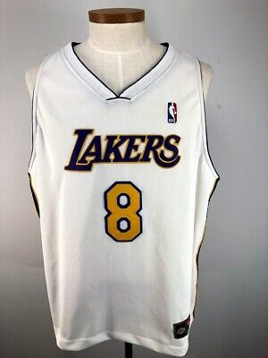 cb868fabe94 Kobe Bryant Los Angeles Lakers Authentic Nike Team Dri-fit Jersey EUC Size  60