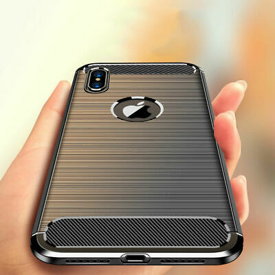 For Apple iPhone XS 6S 6 X 8 7 Luxury Ultra Slim Shockproof Bumper Case Cover