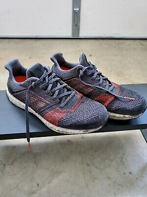 e53a987cc Adidas Mens Running UltraBOOST ST Shoes Training Gym Trainers Boost Red  Black