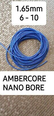 HIGHEST QUALITY AMBERCORE HOLLOW POLE ELASTIC NANO BORE RATED 8-12  3m length