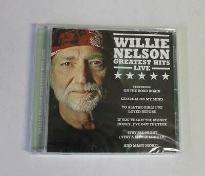 Willie Nelson Greatest Hits Live Cd 2016 20 Songs NEW/Sealed